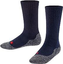 FALKE Socken Active Warm Wolle Kinder schwarz grau viele weitere Farben verstärkte..