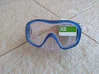 Máscara para buceo y snorkel (azul, xs)