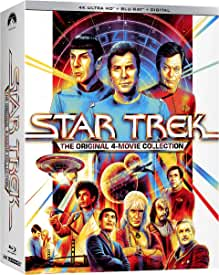 Star Trek: The Original 4 Movies Collection arrives on 4K Ultra HD Sept. 7 from Paramount