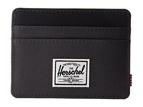 Herschel Supply Charlie Co Negro RFID Dark Shadow rrqBdxF7w