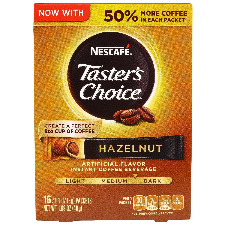 Nescafé Raleigh Special sale item Mall Taster's Choice Instant Beverage Coffee Hazelnut