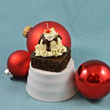 Brownie a la Mode Christmas Ornament