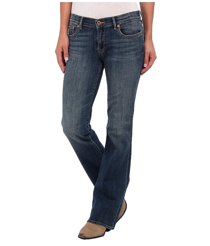 Lucky Brand  Sweet N Straight in Tanzanite (Tanzanite) Womens Jeans