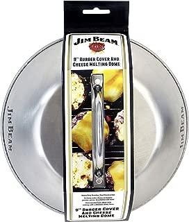 Jim Beam jb0181Burger de Greve y Campana, Plata, 225x 225x 65mm
