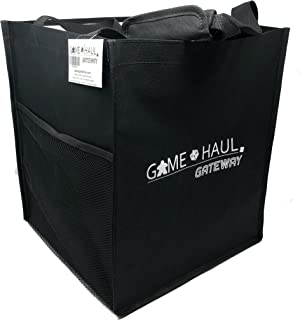Top Shelf Fun Game Haul: Gateway Board Game Carrying Tote w/ Padded Handle, Side Pocket, and Gateway View