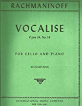 Best vocalise op 34 no 14 sheet music Reviews