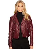 ROMEO & JULIET COUTURE - Amour PU Biker Jacket