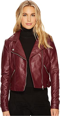 Amour PU Biker Jacket
