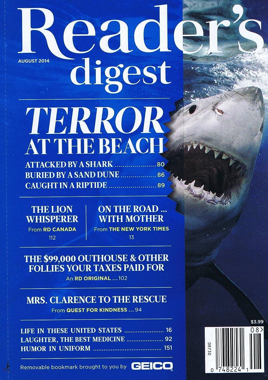老人実際にごちそうReader's Digest [US] August 2014 (単号)