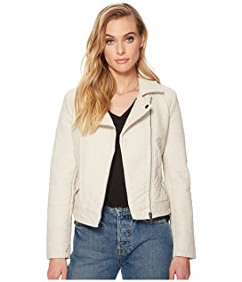 Menton Rippled Vegan Leather Jacket
