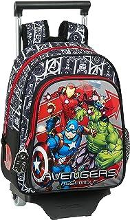 612079020 Unicorns Mochila pequeña Ruedas, Carro, Trolley Avengers, Multicolor