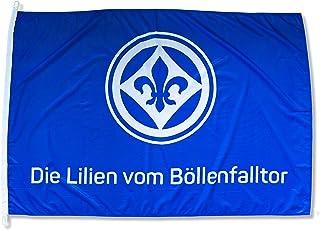 FBS Sportverein SV Darmstadt 98 Fahne - Flagge - Die Lilien vom Böllerfalltor - 150x100cm - Lizenzprodukt