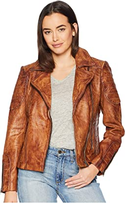 Rabia Ladies Leather Jacket