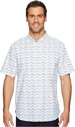 Chevron Shores Woven Shirt