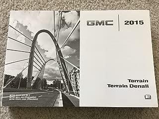2015 GMC Terrain and Denali Owners Manual