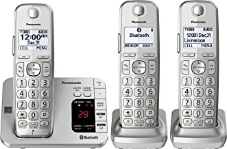 Panasonic PANASONIC Link2Cell Bluetooth Cordless Phone with Answering Machine KX-TGE463S..