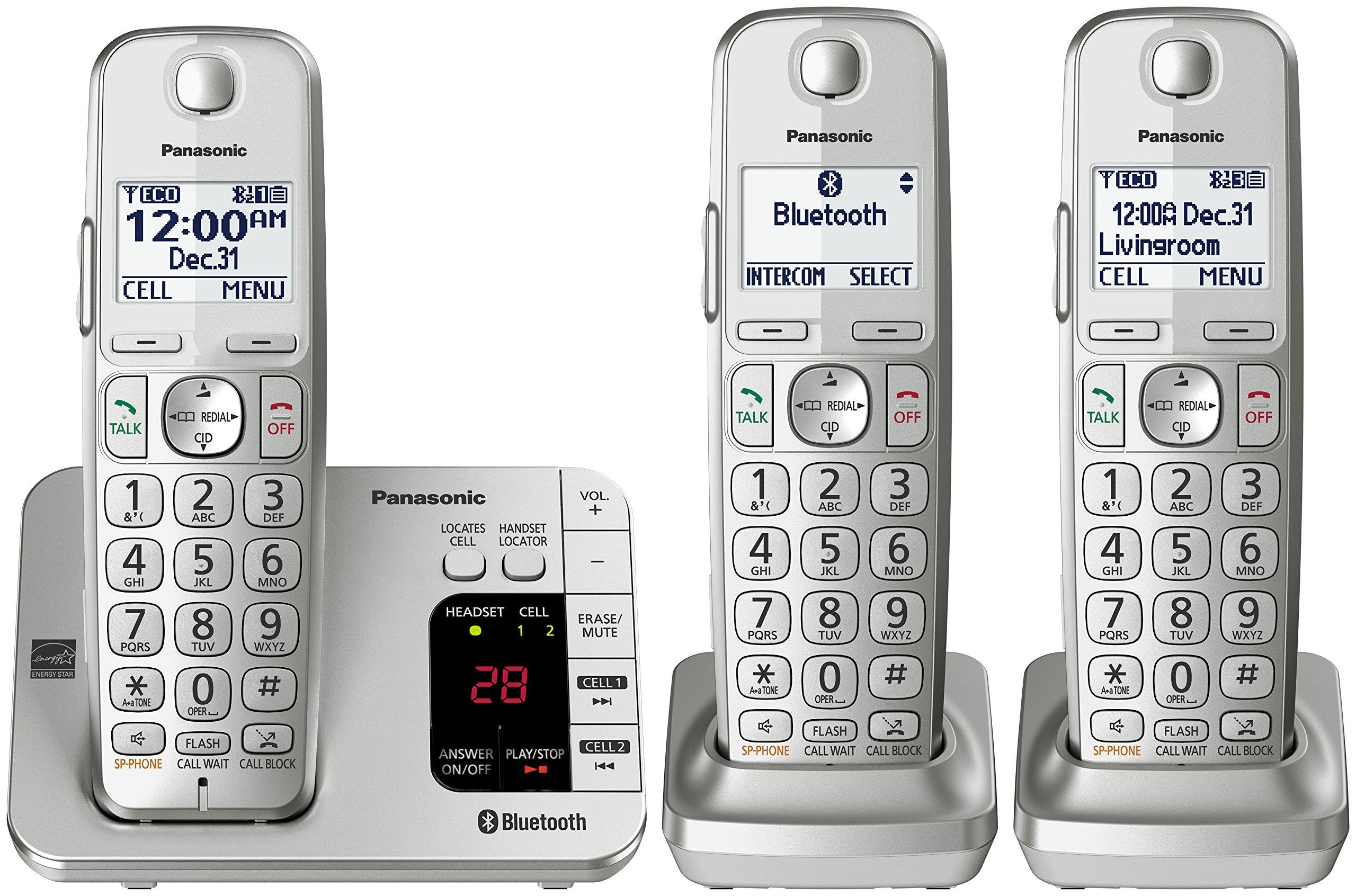 PANASONIC Link2Cell Bluetooth Answering KX TGE463S