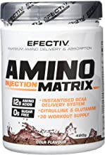 Efectiv Sports Nutrition AIM Amino Injection Matrix Shakes 420 g Cola Estimated Price : £ 25,13