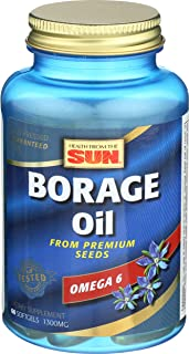 Health From The Sun, Borage Oil 300 Mg, 60 Capsules