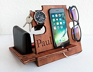 mens personalized docking station