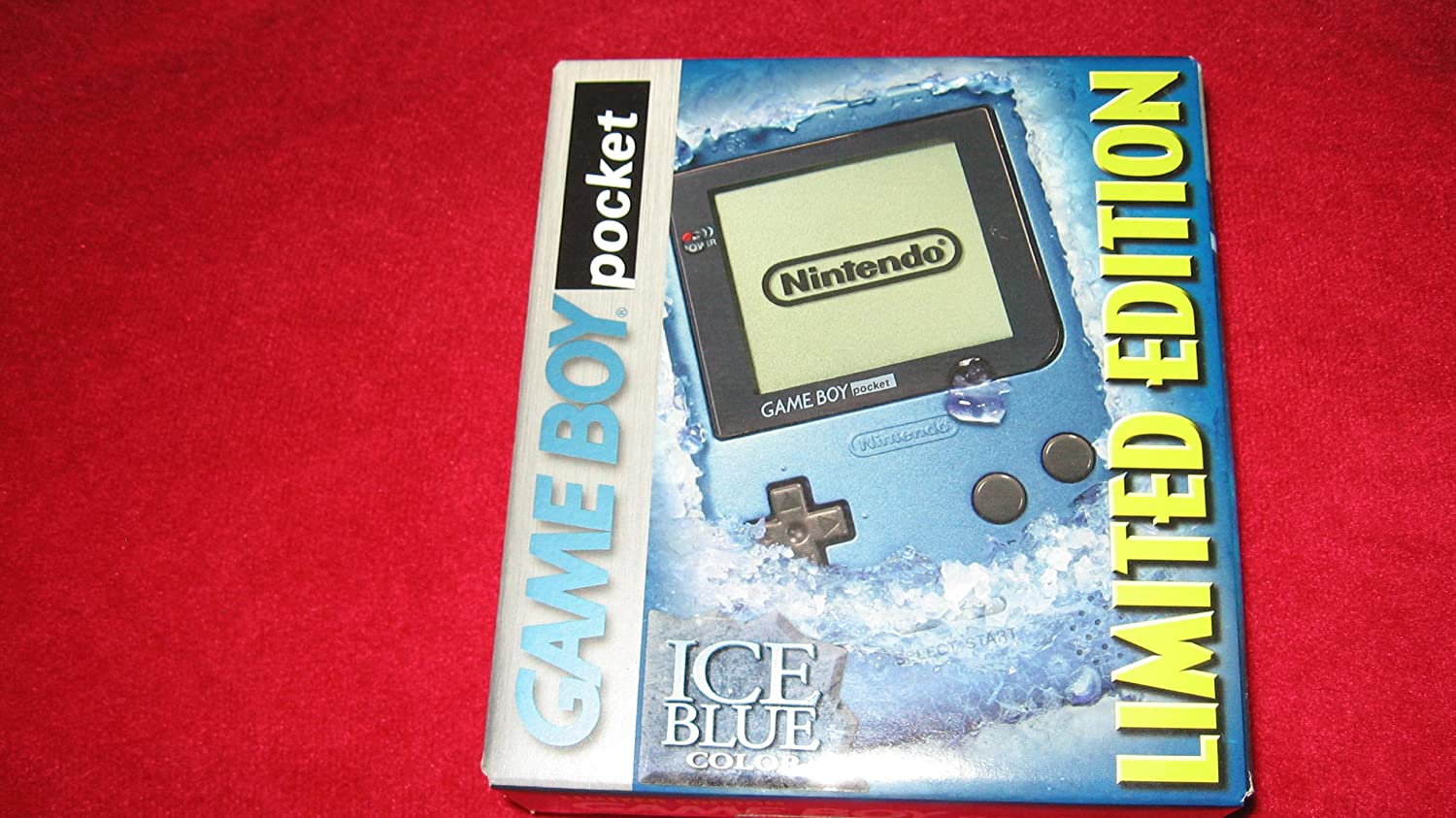 Game Boy Pocket Blue - Ice Ranking TOP16 New life