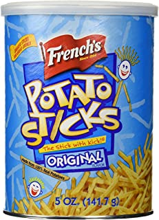 French's, Potato Sticks, Original, 5oz Canister (Pack of 3)