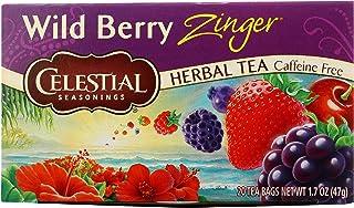 Celestial Seasonings Wild Berry Zinger Tea Bags - 20 ct