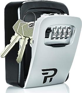 Key Lock Box for Outside - Rudy Run Wall Mount Combination Lockbox for House Keys - Key Hiders to Hide a Key Outside - Wat...