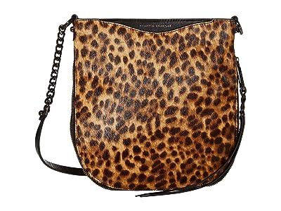 Rebecca Minkoff Emma Swing Crossbody (Leopard) Handbags