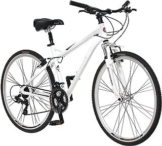 Schwinn Bicicleta híbrida Network 3.0 700C para Hombre, Blanca, 45.7 cm