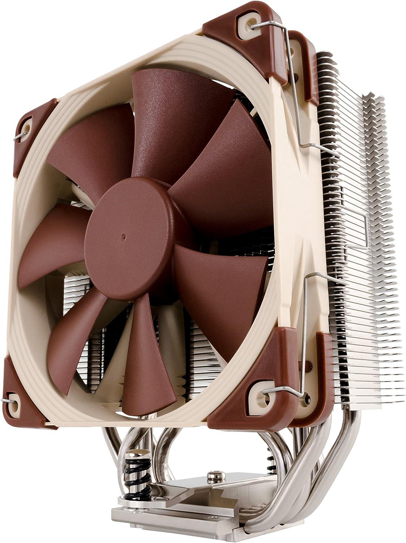 Noctua NH-U12S, disipador de CPU de 120 mm y torre de grosor reducido (marrón)