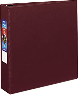 Avery Heavy-Duty Binder with 2-Inch One Touch EZD Ring, Maroon (79362)
