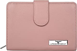 Urban Forest Arya Rose Leather Wallet for Women