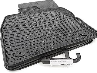 Gummimatten passend für Leon III 5F Premium Qualität Gummifußmatten schwarz 4 teilig
