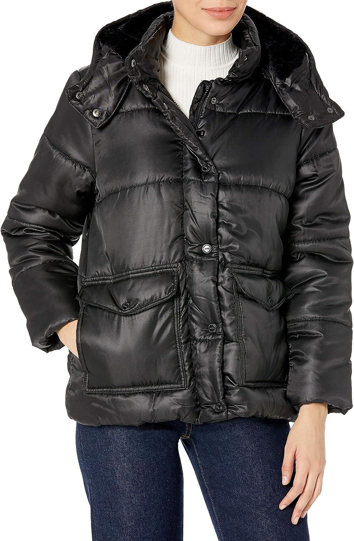 URBAN REPUBLIC Max 81% OFF Women's Juniors Poly Jacket Polyfill Puffer 25% OFF