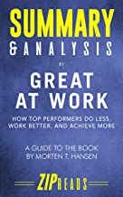 Best great work great career summary Reviews