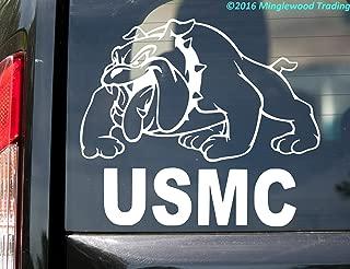 Minglewood Trading USMC Bulldog Chesty Vinyl Decal Sticker 10