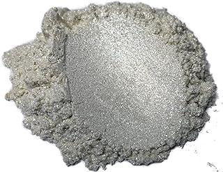 """42g/1.5oz""""Diamond Silver Pearl"""" Mica Powder Pigment (Epoxy,Resin,Soap,Plastidip) Black Diamond Pigments"""