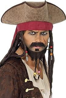 Smiffys Pirate Hat Size: One Size