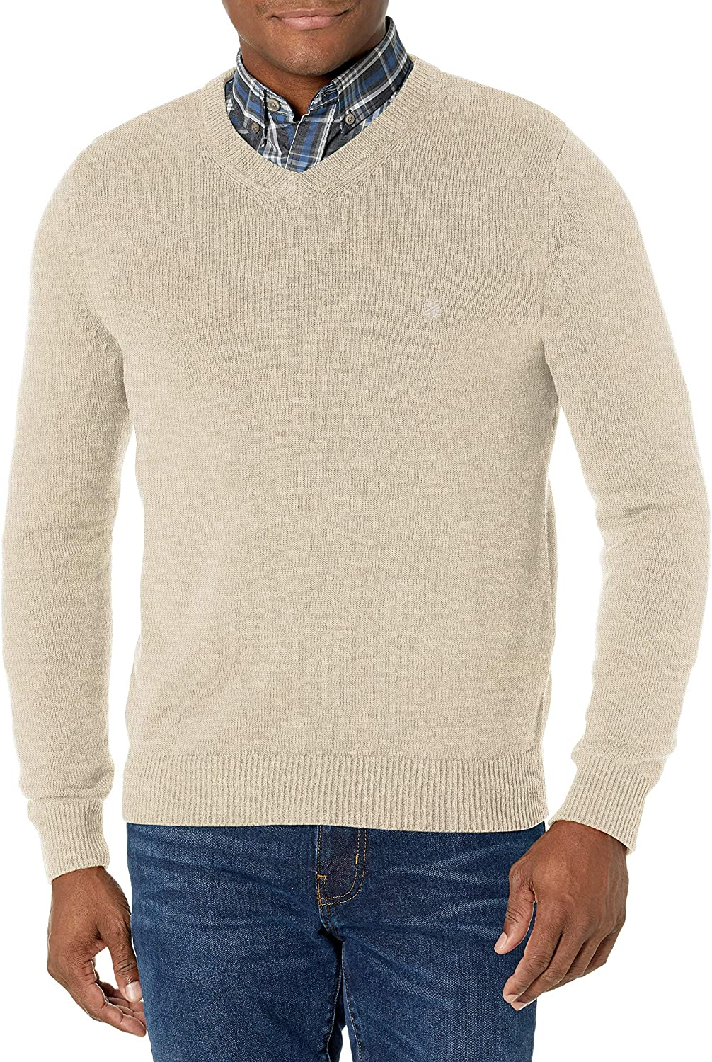 IZOD Sales of SALE items from new works Ranking TOP4 Men's V-Neck 7gg Sweater Sleeve Long
