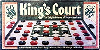 King's Court; the Original Game of Supercheckers