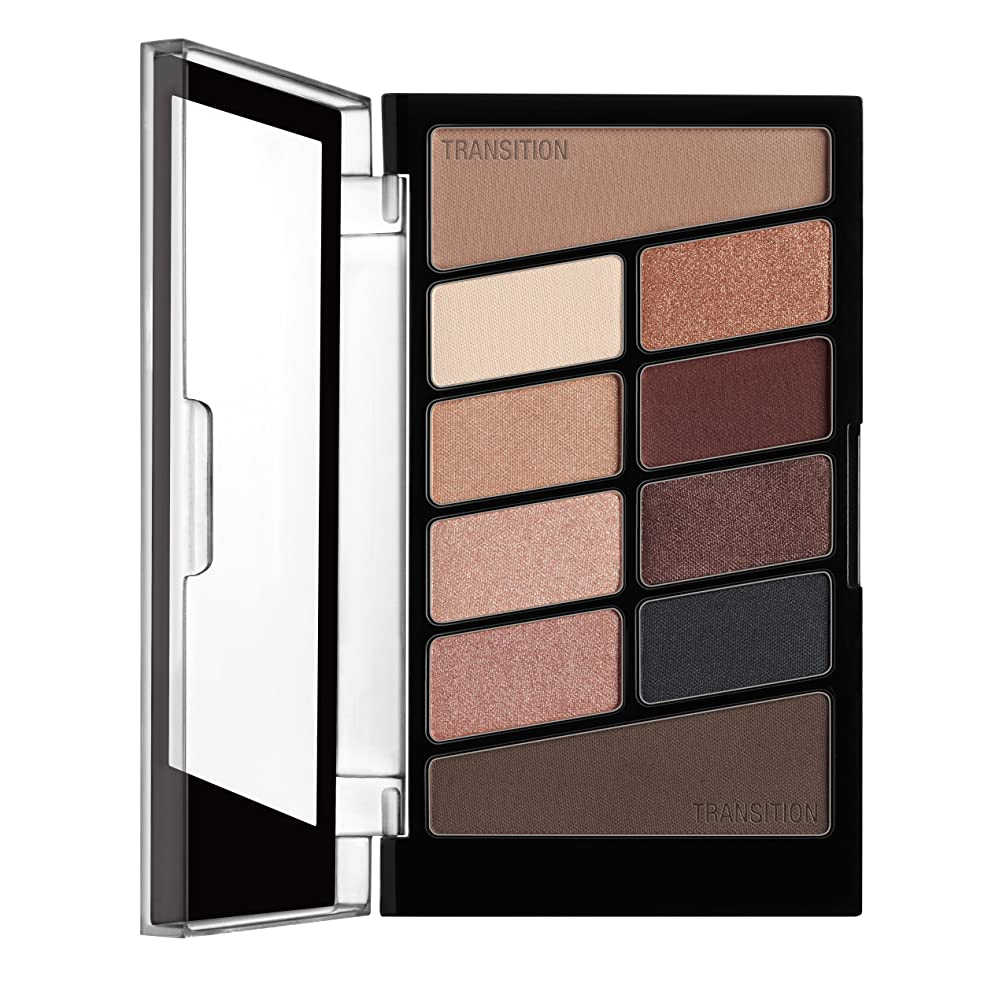 に賛成飛躍アノイWET N WILD Color Icon Eyeshadow 10 Pan Palette - Nude Awakening (並行輸入品)