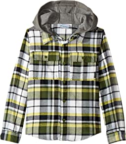 Columbia Kids Boulder Ridge Flannel Hoodie (Little Kids/Big Kids)