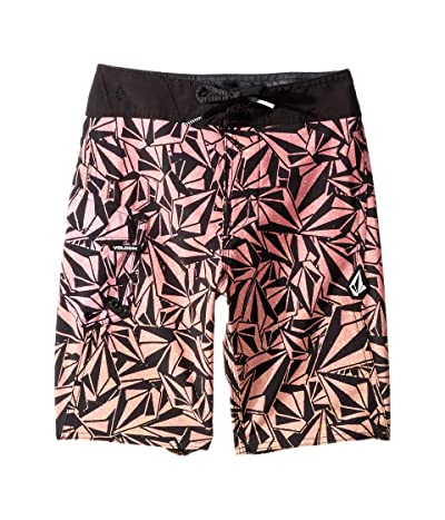 Volcom Kids Confetti Stone Mod Boardshorts (Big Kids) (Glitch Purple) Boy