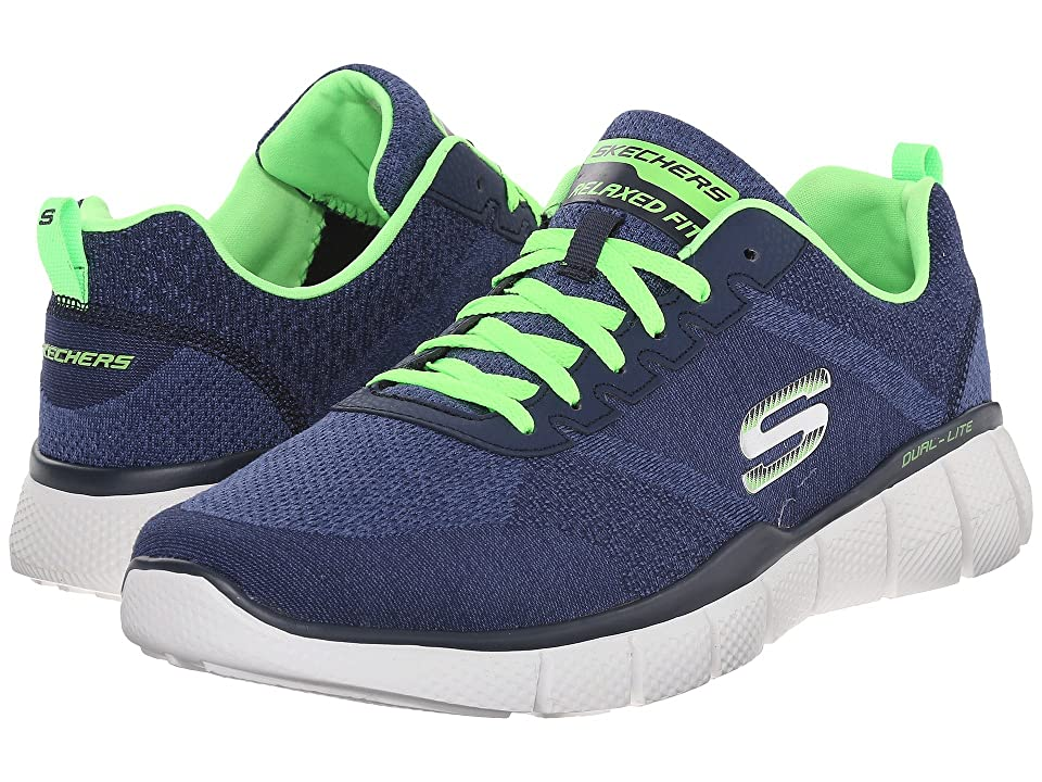 SKECHERS Equalizer 2.0 True Balance (Navy/Lime) Men
