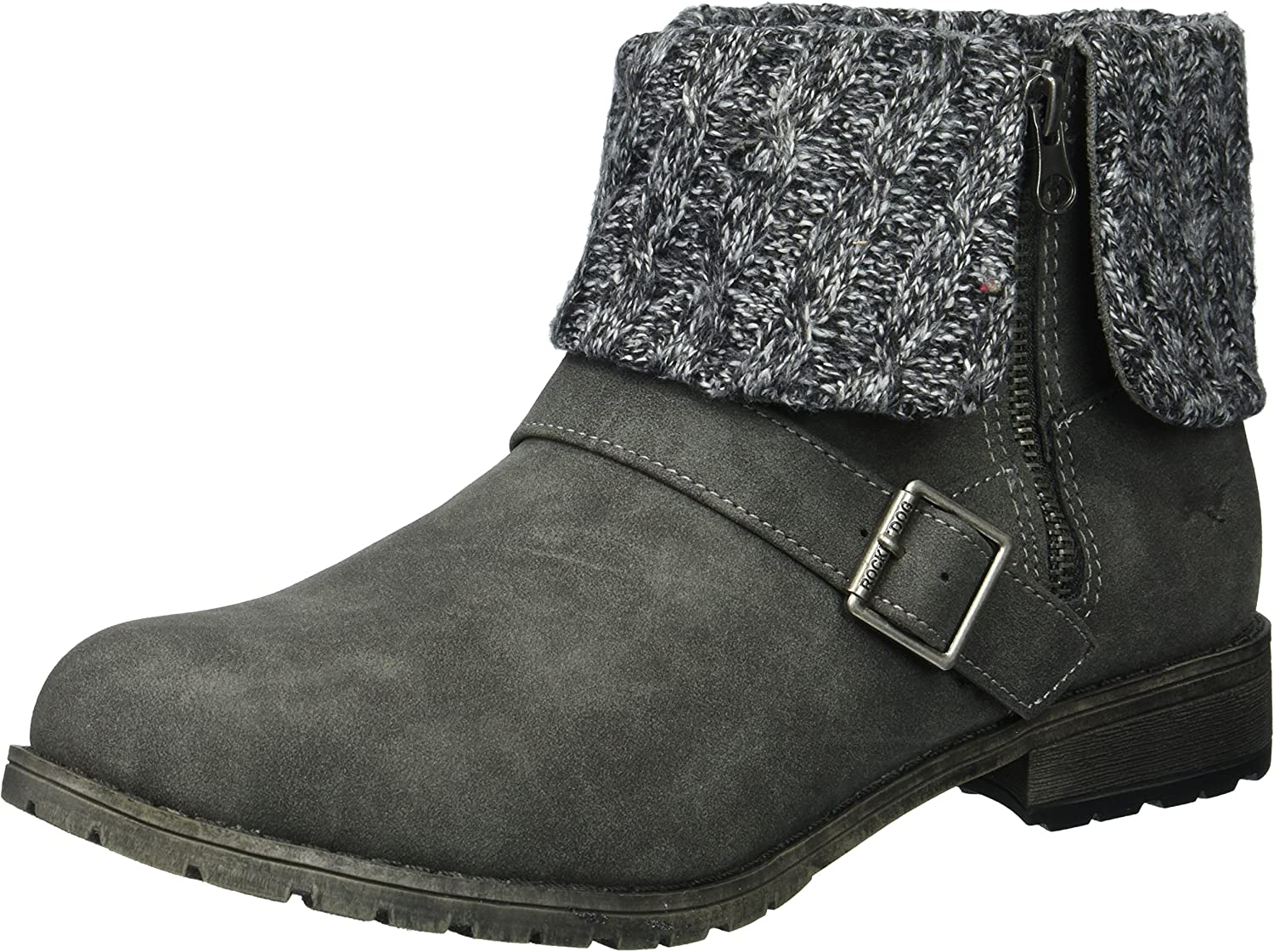 Rocket Dog Womens Bentley Eagle Pu - Platoon Fabric Ankle Boot