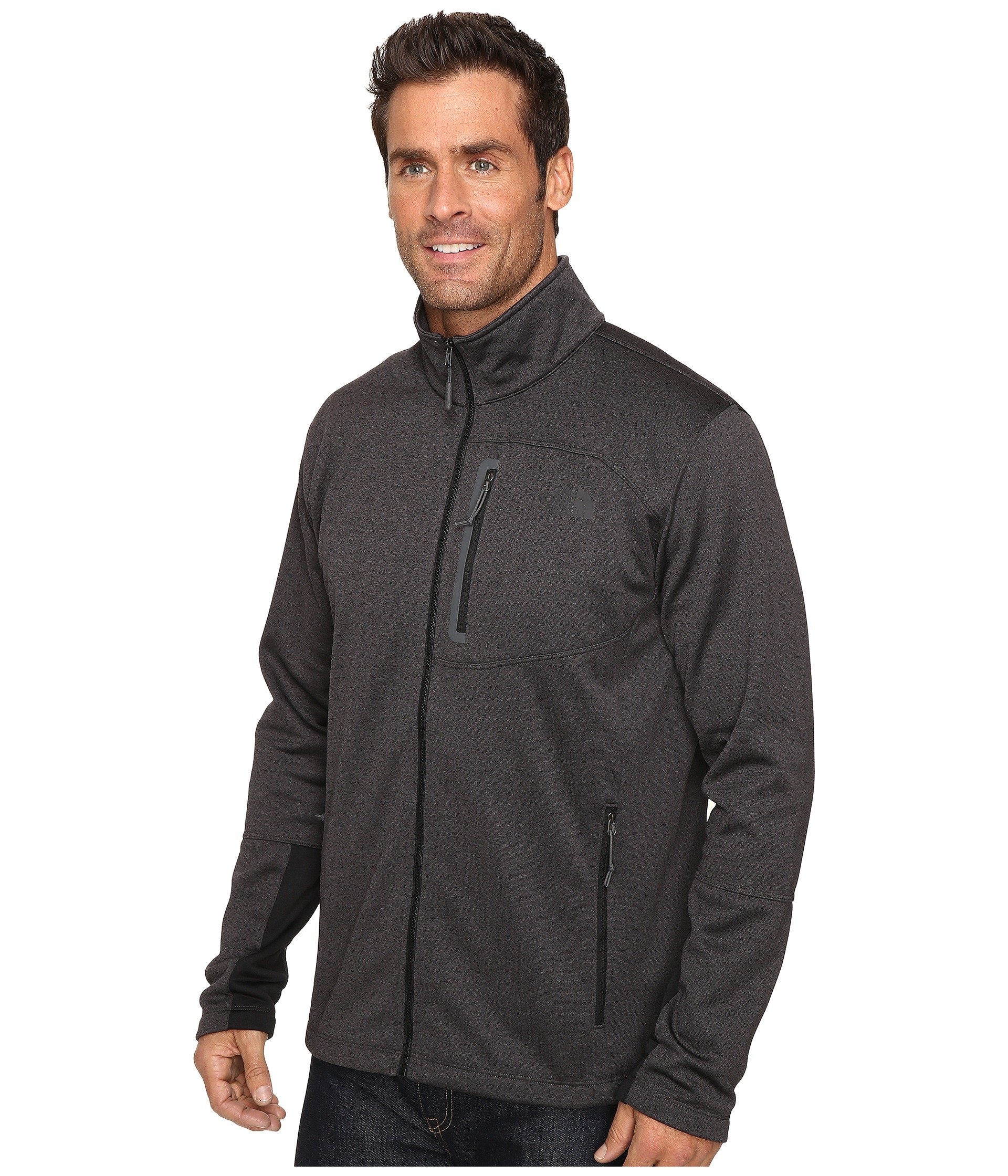Zip Tnf The Full Dark Heather Face Canyonlands Grey North IwI7W1qcT