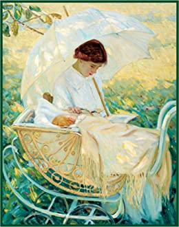 Orenco Originals Lydia in The Garden Dog by Mary Cassatt Counted Cross Stitch Pattern