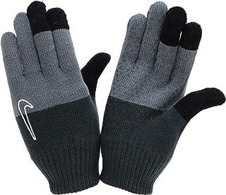 Nike Stickade handskar ungdom svart/grå med pekfunktion