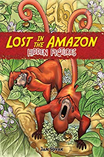 Lost in the Amazon Hidden Pictures (Dover Children's Activity Books)